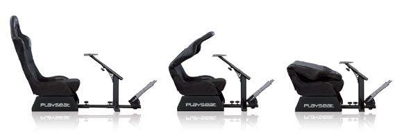 Playseat Evolution Alcantara összehajtása