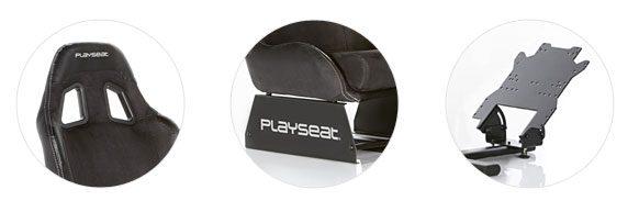 Playseat Evolution Alcantara háttámla, ülés és pedáltartó