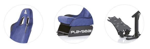 Playseat Evolution PlayStation háttámla, ülőrész és pedáltartó