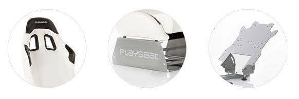 Playseat Evolution White (fehér) háttámla, ülés és pedáltartó