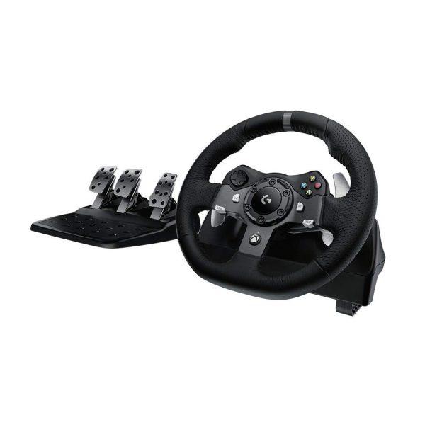 Logitech G920 Racing Wheel (kormány szett) tartalma