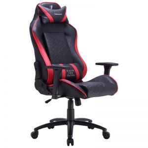 Tesoro Zone Balance (fekete piros csíkkal) gamer szék