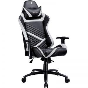 Tesoro Zone Speed (fekete fehér csíkkal) gamer szék