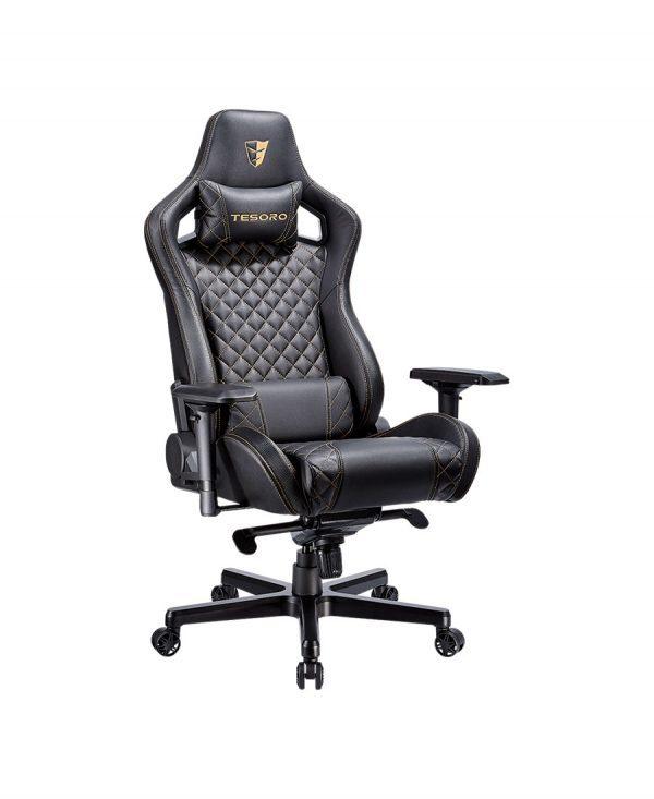 Tesoro Zone X (fekete-arany) gamer szék