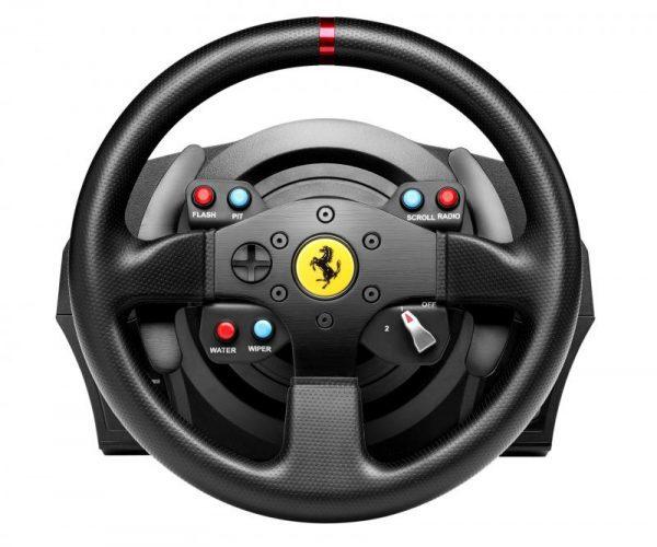 Thrustmaster T300 Ferrari GTE (kormány szett) (Pc, Ps3, Ps4) szemből