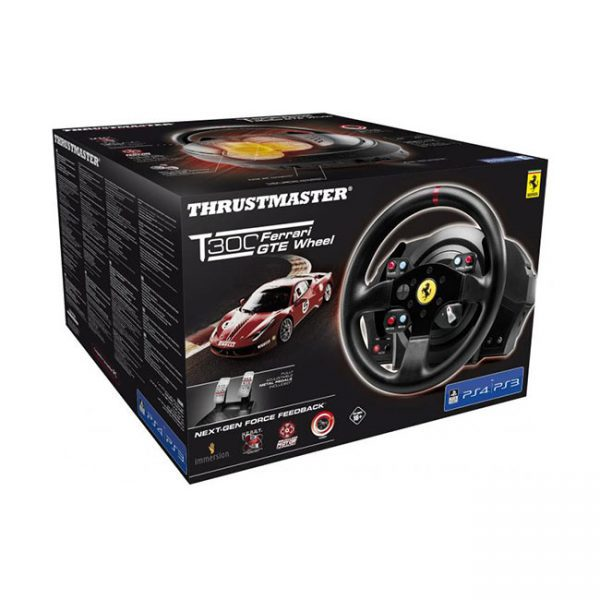 Thrustmaster T300 Ferrari GTE (kormány szett) (Pc, Ps3, Ps4) doboza