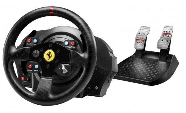 Thrustmaster T300 Ferrari GTE (kormány szett) (Pc, Ps3, Ps4) tartalma