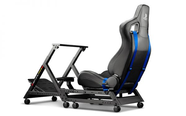 Next Level Racing Szimulátor cockpit - GTtrack Playstation Edition
