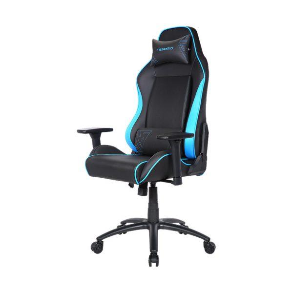 Tesoro Alphaeon Alphaeon S1 Black/Blue (fekete/kék) gamer szék