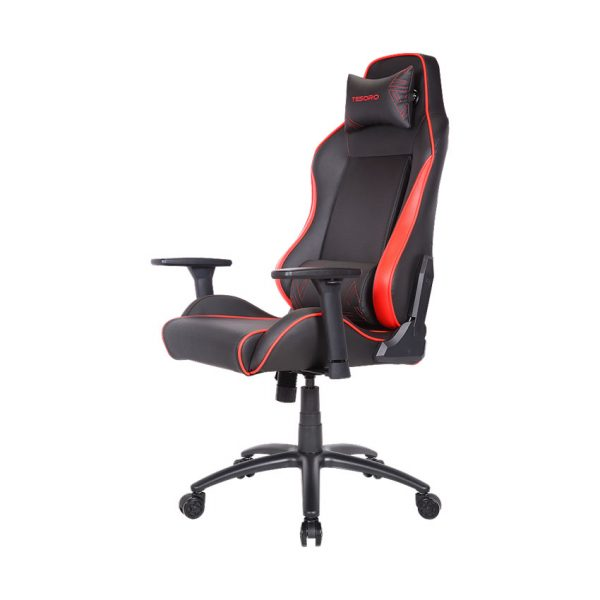 Tesoro Alphaeon Alphaeon S1 Black/Red (fekete/piros) gamer szék